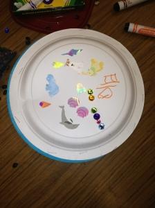 Paper Plate Maraca by Ella