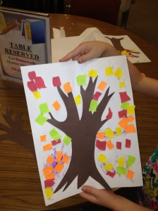 Torn Paper Tree by Sarah