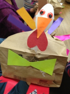 Paper Bag Turkey by Ramona