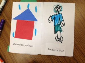 Rain book by Olivia