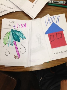 Rain books by Jonas and Alyssa