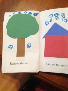 Rain book by May