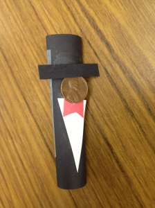 Abe Lincoln Finger Puppet
