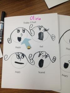Emotion Wheel by Olivia