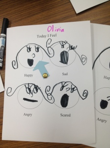 Emotion Wheel by Olivia