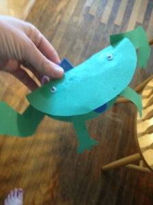 Paper Frog by Lily