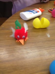 Pom-Pom Chick by Liat