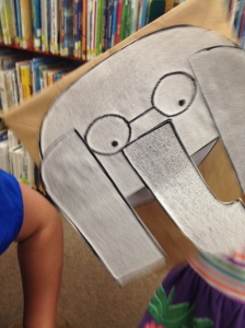 Gerald Paper Bag Puppet by Chloe