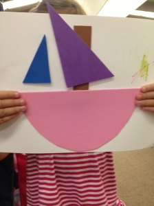 Foam Shape Boat by Kiley