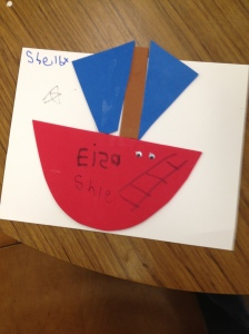 Foam Shape Boat by Shelby