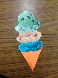 Ice Cream Cone Craft on the Isle of Ice Cream