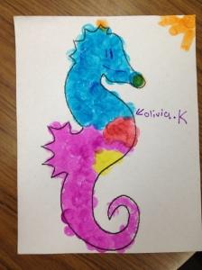 Seahorse by Olivia