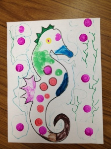 Seahorse by Addie