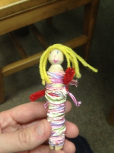Worry Doll by Sarah