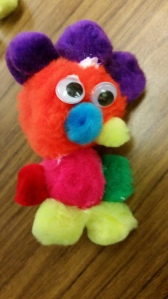 PomPom Creature by Kiley