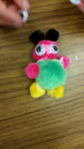 PomPom Creature by Olivia